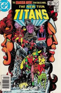 New Teen Titans, The (1st Series) #24B VF/NM; DC   save on shipping - details in