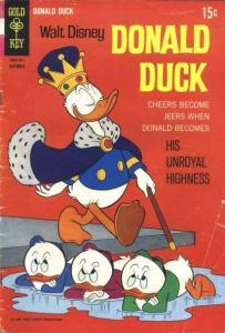 Donald Duck (1940 series) #122, VG- (Stock photo)