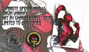 SYMBIOTE SPIDER-MAN #1 GABRIELE DELL'OTTO TRADE/VIRGIN VARIANT SET LTD 600 SETS