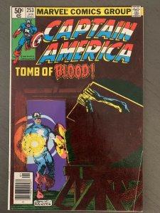 Captain America 253 VF/NM 1st Union Jack II Marvel Key VF