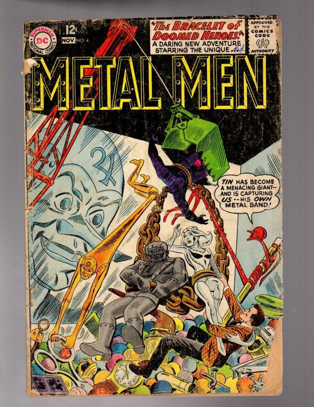 METAL MEN 4 GOOD  MINUS November 1963