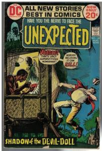 UNEXPECTED (TALES OF) 138 G-VG Aug. 1972
