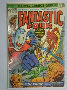 Fantastic Four #150 featuring Quicksilver and Ultron 4.0 VG (1974 1st Series)