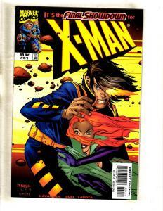 Lot Of 9 X-Man Marvel Comic Books # 51 52 54 67 68 71 72 74 75 Storm X-Men CJ1