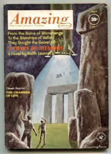 Amazing Stories July 1962- Trace of Memory- Chamber of Life