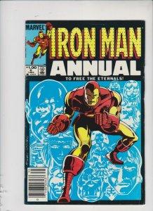 IRON MAN ANNUAL'S 6 & 7 1984 MARVEL / VG-