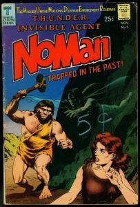 NOMAN #1 1966-WILLIAMSON-WALLY WOOD-LIGHTNING- VG
