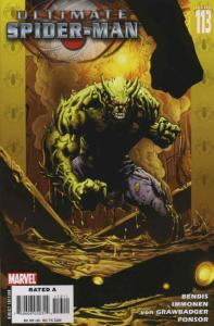 Ultimate Spider-Man #113 VF; Marvel   save on shipping - details inside