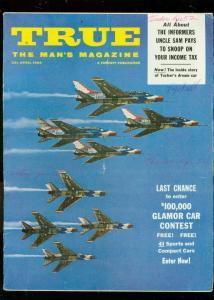 TRUE MAGAZINE APRIL 1960-FORGERY-KENDO-PRESTON TUCKER FN