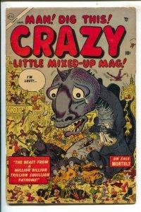 Crazy  #2 1954- Atlas -Mad imitation- Davy Berg-Joe Maneely-Bill Everett-paro...
