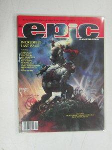 Epic Illustrated (1986 Magazine) #34, 7.5