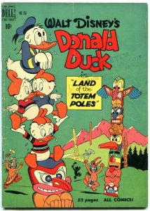 Donald Duck Land of the Totem Poles- Four Color Comics #263 1950-Carl Barks vg-