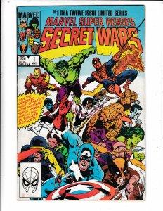 MARVEL SUPER HEROES SECRET WARS #1  FN  COMICS Save on shipping