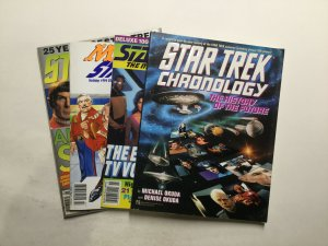Star Trek Misc Magazine Lot Near Mint Nm Pocket Books And Others