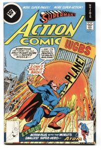 ACTION COMICS #487 Whitman variant! 1978- First appearance of MICROWAVE MAN