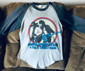 BRUCE SPRINGSTEEN and the E STREET BAND T-SHIRT, Small, 1980 1981, used