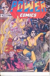 POWER COMICS (1977) 1(1ST PRINT; 12/77) VF SIM ART/AARV COMICS BOOK