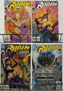 ROBIN (1993) 102-105  'Natalia / Nocturna' story arc! COMICS BOOK