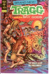 TRAGG & THE SKY GODS (1975-1977 GK) 1 VF June 1975 COMICS BOOK