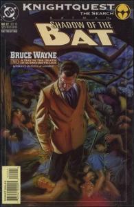 DC BATMAN: SHADOW OF THE BAT #22 VF