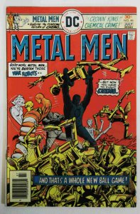Metal Men #46 VF High Grade DC Comic 1976 Bronze Age Comics book