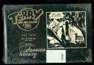 TERRY AND THE PIRATES: V.11 1944-1945 HARDCOVER SEALED  NM