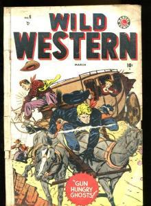 WILD WESTERN #6-MARVEL-TWO-GUN KID/BLAZE CARSON-COOL G-