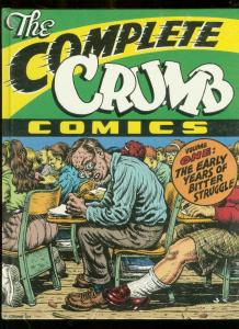 COMPLETE CRUMB-V1-SIGNED & SEALED HARDBACK-ROBERT CRUMB NM