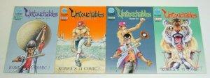 Untouchables #1-4 FN complete series - eastern comics - korea's #1 comic -set