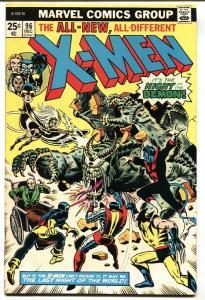 X-MEN #96-WOLVERINE-1975-MARVEL BRONZE VF-