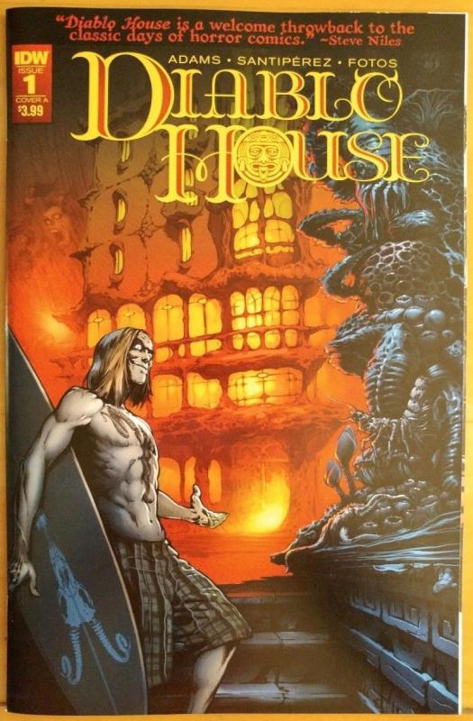 DIABLO HOUSE #1 A, NM, Horror, IDW, 2017 more in store