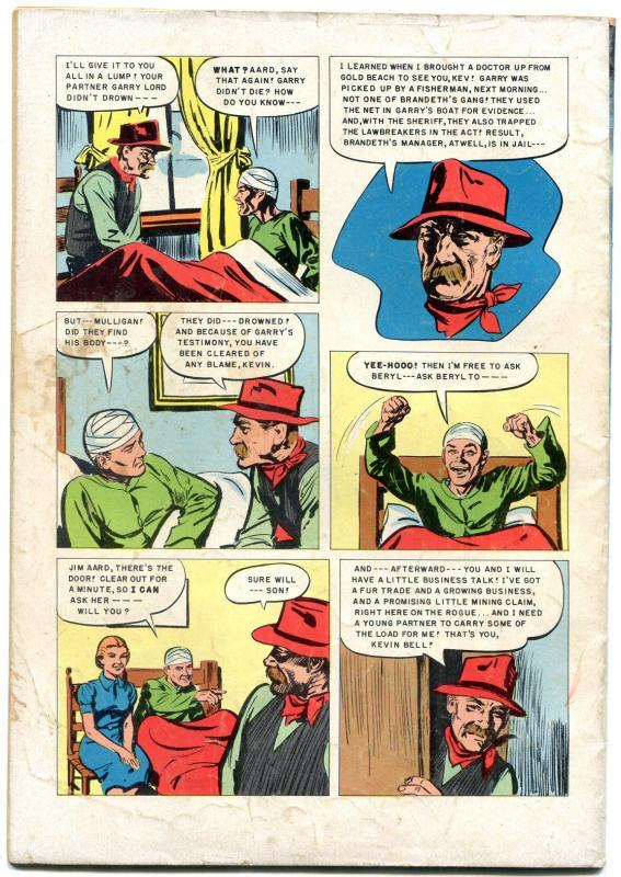 Four Color Comics 484 1953 Zane Greys River Feud VG
