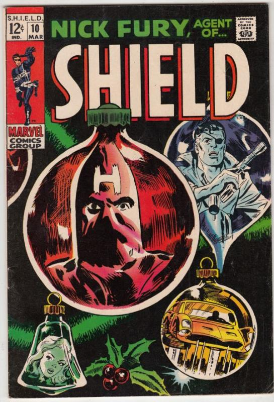 Nick Fury Agent Of S.H.I.E.L.D. #10 (Mar-69) VF/NM High-Grade Nick Fury, S.H....