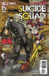 Suicide Squad #3 (VF/NM) 2011 DC Comics ID#000