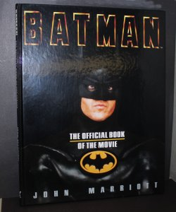 Batman: Official Book of the Movie /  Hardcover  /  NM  / 1989