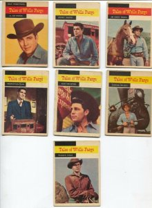Tales Of Wells Fargo Western TV Series Trading Card Set 1958-Dale Robertson