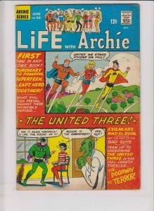Life With Archie #50 FN- june 1966 - 1st appearance of UNITED THREE - pureheart