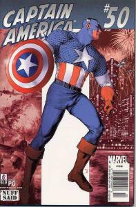 Captain America (1998 series) #50, NM (Stock photo)