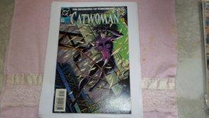1994 dc comics silver catwoman # 0