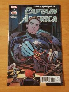Steve Rogers Captain America #8 ~ NEAR MINT NM ~ 2017 Marvel Comics