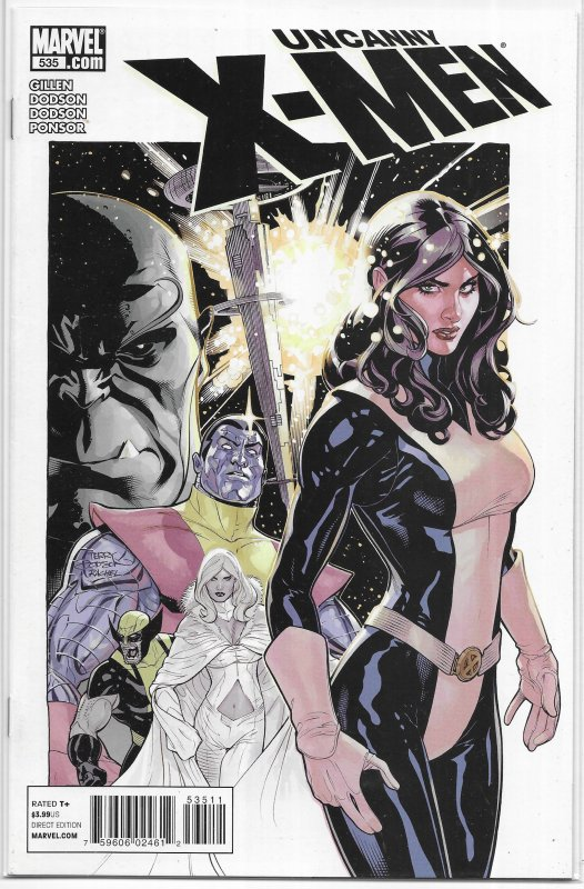 Uncanny X-Men   vol. 1   #535 VF/NM (Breaking Point 1) Gillen/Dodson