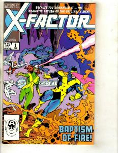 Lot of 11 X Factor Marvel Comic Books  1 2 3 4 7 8 9 10 11 12 13 Cyclops DS2