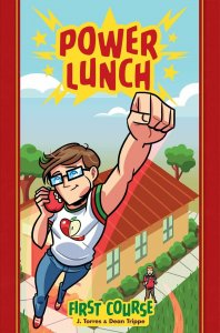 Power Lunch HC #1 VF/NM; Oni Press | save on shipping - details inside