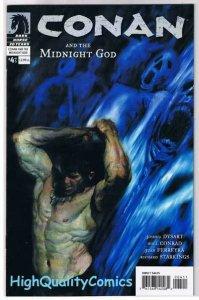 CONAN : MIDNIGHT GOD #4, NM+, Will Conrad, Sword, 2006, more in store