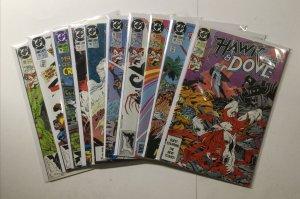 Hawk And Dove 1-28 Annual 1 2 Lot Run Set Near Mint Nm Dc Comics