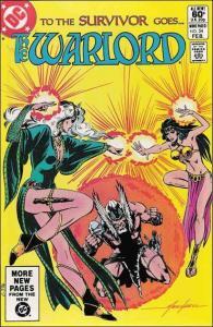 DC WARLORD (1976 Series) #54 FN+