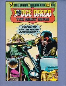 Judge Dredd The Early Cases #3 NM-/NM Eagle Comics 1986