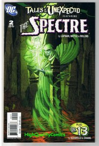 Tales of the UNEXPECTED #2, NM+, Spectre, Dr 13, Lapham, more in store