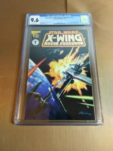 Star Wars X-Wing Rogue Squadron 1/2 CGC 9.6 white pages