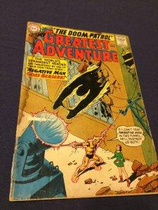 My Greatest Adventure #83 (1963) GD Doom Patrol vs. Negative Man READ Descript.